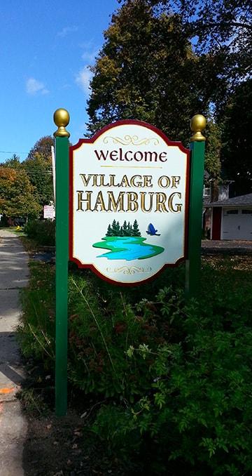 Post and Panel Village of Hamburg, NY