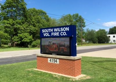 LED Message Centers South Wilson Volunteer Fire Company Niagara County