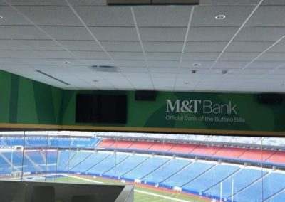 ADA Wayfinding New Era Stadium Buffalo Bills