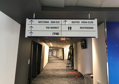 Wayfinding New Era Stadium Buffalo Bills Suites