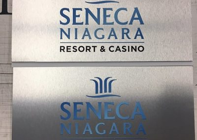 Digitally Printed Aluminum Seneca Niagara Casino