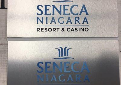 Digitally Printed Aluminum Seneca Niagara Casino