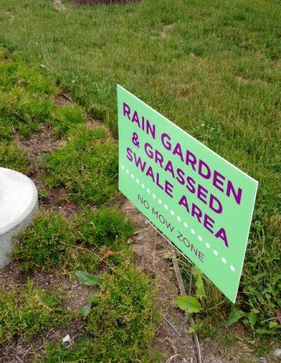 Digitally Printed Lawn Sign