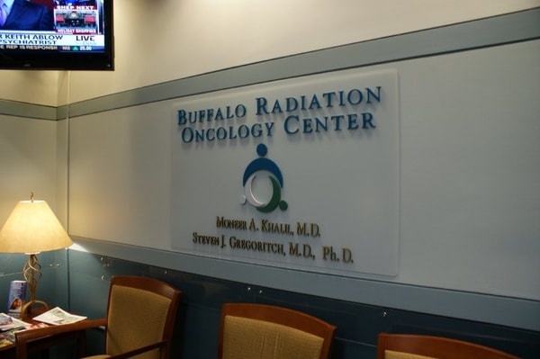Non Illuminated Letters Buffalo Radiation Oncology Center