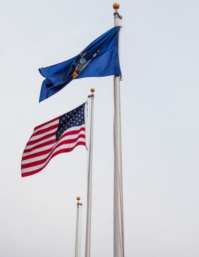 Custom Flag West Seneca Fire District Old Glory Flag Company