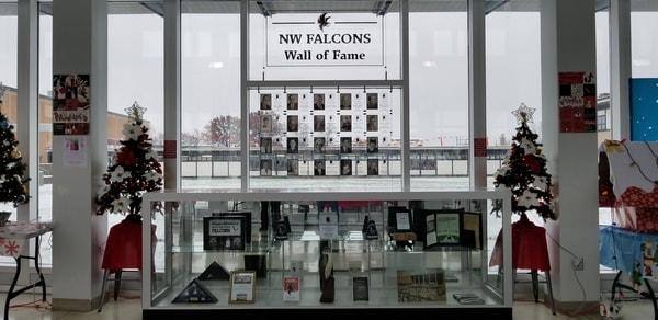 Dedication Wall Niagara Wheatfield High School  Acrylic Sign  NYS WBE Sign Company Buffalo Niagara