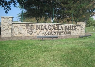 Exterior Dimensional Letters Niagara Falls Country Club