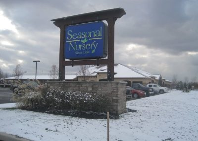 Exterior Illuminated Seasonal Nursery