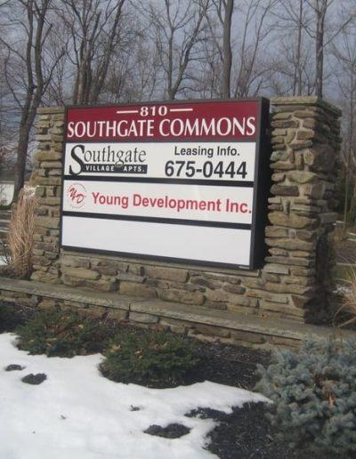 Exterior Illuminated Southgate Commons