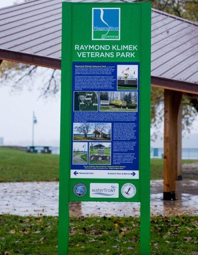 Digitally Printed grafitti proof wayfinding sign EX-Non Illuminated EX-Post and Panel Appleton Barker Burt Gasport Lewiston Lockport Middleport Newfane Niagara Falls North Tonawanda Olcott Ransomville Sanborn Wilson Youngstown