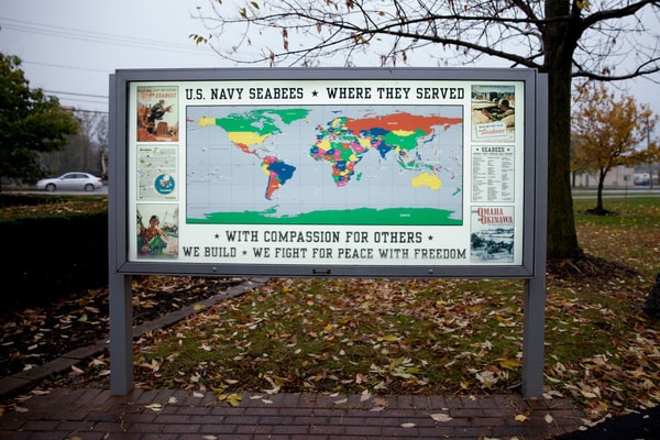 Post and Panel Signs Exterior Sign Niagara County Erie County Sign Company NYS WBE Appleton Barker Burt Gasport Lewiston Lockport Middleport Newfane Niagara Falls North Tonawanda Olcott Ransomville Sanborn Wilson
