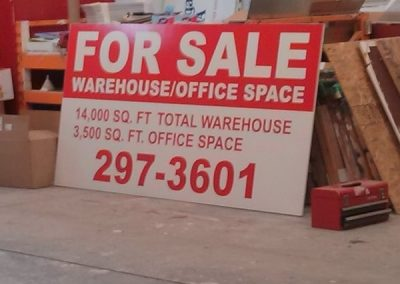Exterior Digitally Printed For Sale Signs