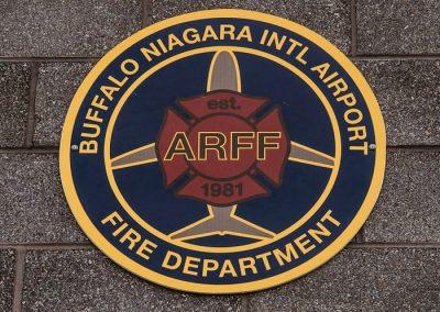 Plaque Buffalo Niagara International Airport