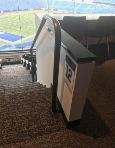N-180 New Era Stadium Acrylic ADA Signs Interior Signs ADA and Wayfinding Orchard Park, NY Erie County, NY Organization Sports