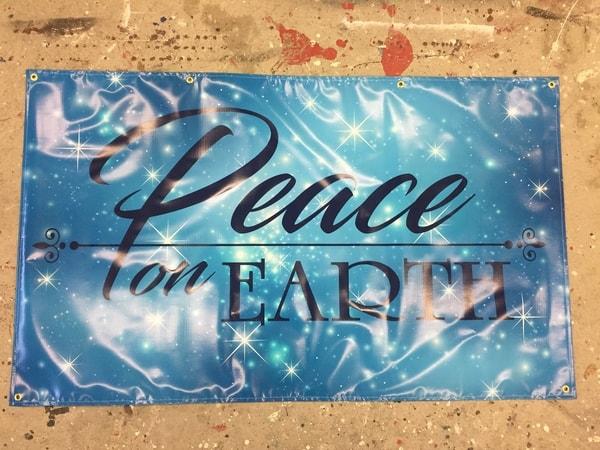 N-110 banner Exterior Signs Digitally Printed Signs and Banner Niagara Falls, NY Niagara County, NY Organization Church
