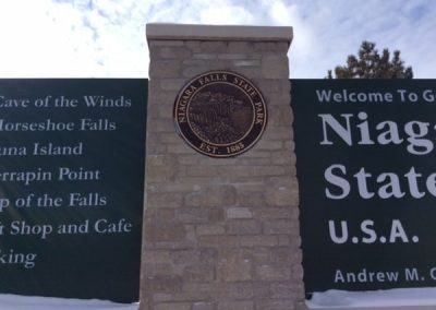 Plaques Niagara Falls State Park