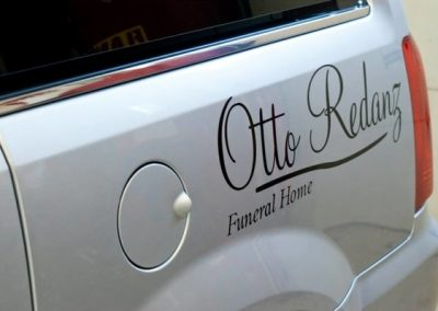 N-191 Otto Redanz Vehicle Graphic Vehicle Graphics Niagara Falls, NY Niagara County, NY Business Funeral Home