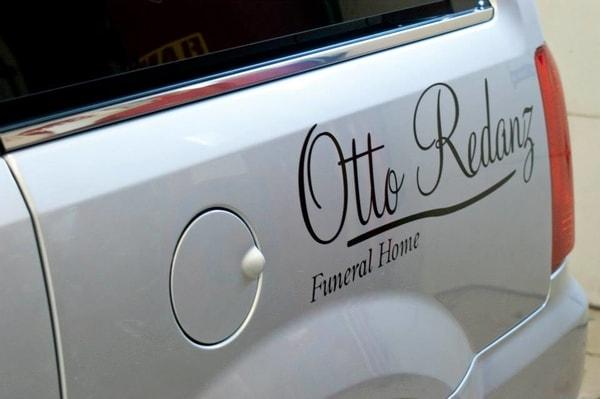 N-191 Otto Redanz Vehicle Graphic Vehicle Graphics Niagara Falls, NY Niagara County, NY Business Funeral Home