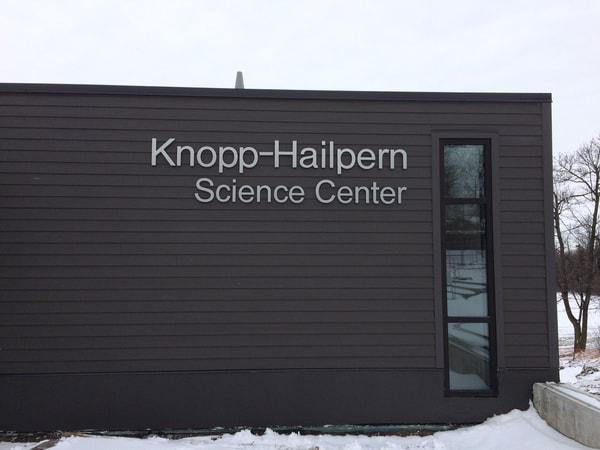 N-208 Park School aluminum Exterior Signs Non Illuminated Signs Dimensional Letters Buffalo, NY Erie County, NY Organization School