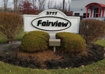 N-213 Fairview foam Exterior Signs Non Illuminated Signs Monument Signs Wheatfield, NY Niagara County, NY Business manufacturing