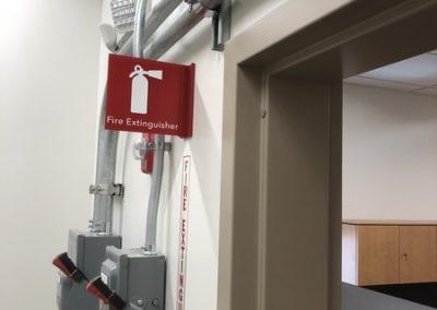 Safety Signs VA Hospital
