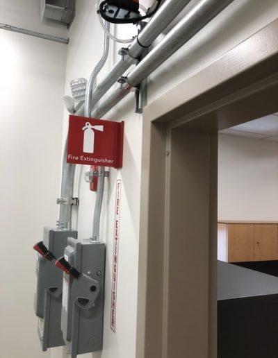 N-229 VA Hospital Aluminum Interior Signs Safety Signs Canandaigua, NY Monroe County, NY Government hospital