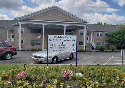Walden Park Senior Apartments Exterior Signs Non Illuminated Signs Post and Panel Cheektowaga NY