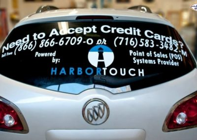 Vehicle Graphics Harbor Touch NYS WBE Sign Company Buffalo Niagara Business Signs