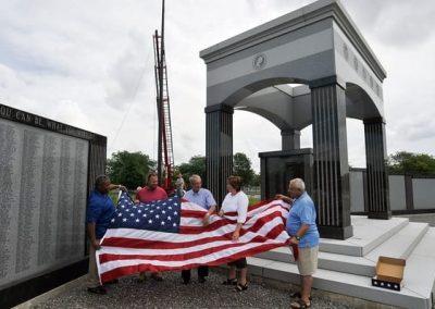 N-305 Niagara Falls Veterans Mem flagpole Flagpoles & Custom Flags us flag Niagara Falls, Ny Niagara County organization