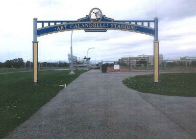 Niagara Falls Stadium Gateway Sign