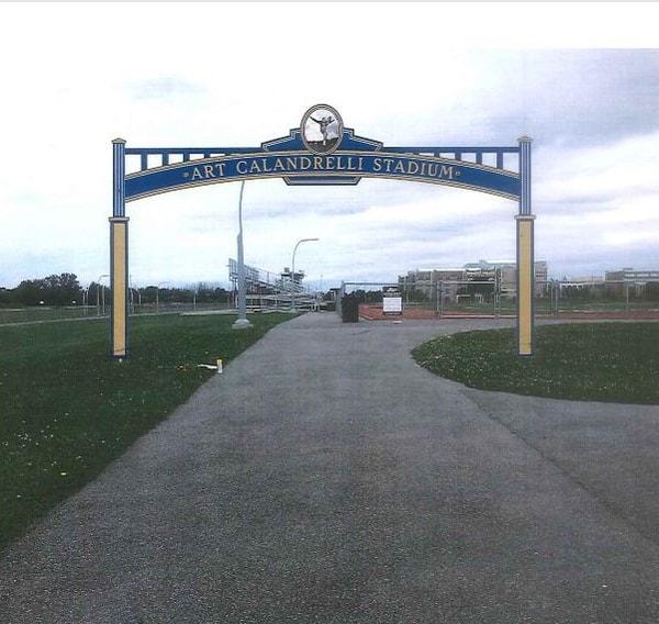 Niagara Falls Stadium Gateway Sign