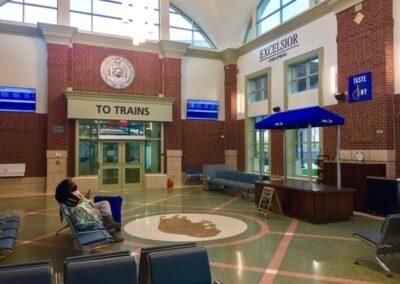 Amtrak, Exchange Street Station, Buffalo, NY